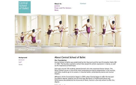 Screenshot of About Page csbassociateschool.co.uk captured Dec. 2, 2017