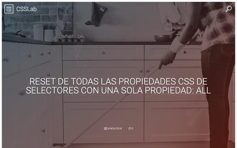Screenshot of Home Page coffeeshark.us - CSSLab   Laboratorio de ideas web - captured Dec. 8, 2018