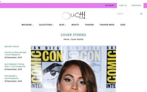 Screenshot of Blog ouchmagazine.com - Cover Stories                         – OUCH MAGAZINE - captured Dec. 12, 2018