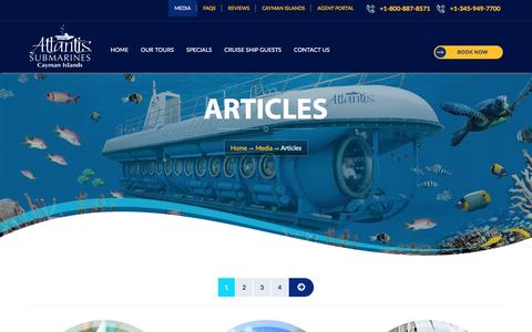 Articles - Cayman Island Submarines
