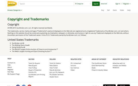 Report Alleged Copyright Infringement at GunBroker.com | user's Blog!