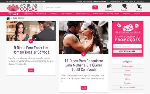 Blog de Sexo | Aquelas Coisas