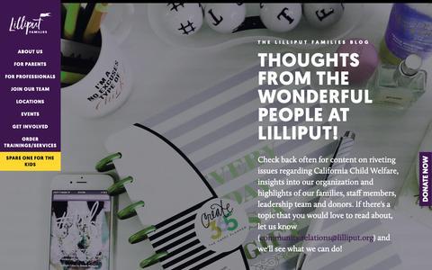 Screenshot of Blog lilliput.org - Blog - captured Sept. 28, 2018