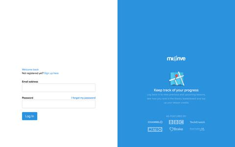 Screenshot of Login Page midrive.com - Sign in - miDrive - captured July 13, 2017