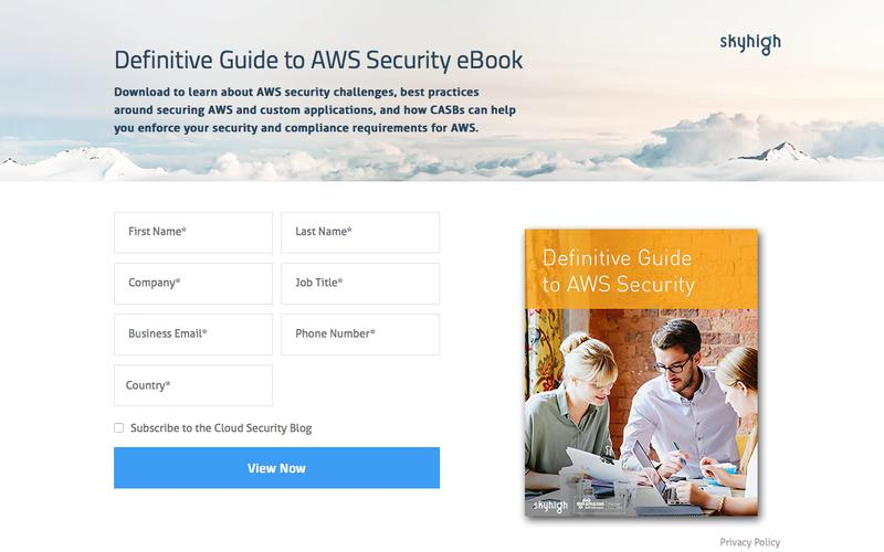 Definitive Guide to AWS Security eBook