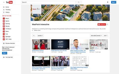 MaxPoint Interactive  - YouTube