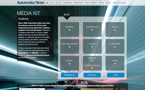 Automotive News - Media Kit