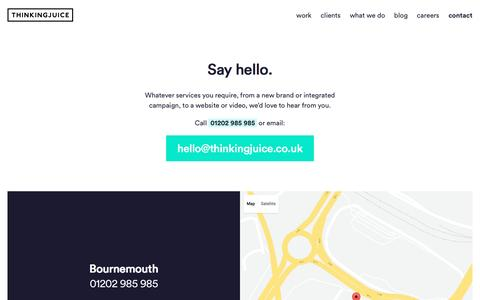 Award-winning advertising agency based in Bournemouth and London