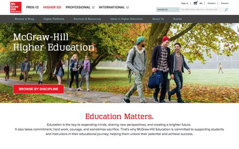 McGraw Hill Higher Education