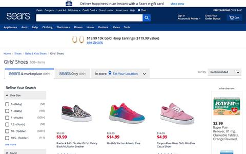 Girls' Shoes | Girls' Dress Shoes - Sears
