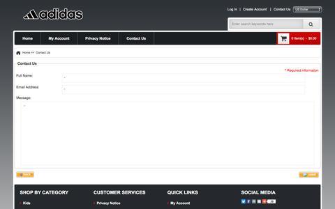 Screenshot of Contact Page balboaparkrealty.com - Contact Us : Adidas New York Online, Adidas Sports Bag Sale - captured Aug. 1, 2018