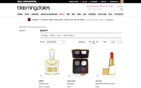 New Beauty Products: New Makeup & Cosmetics - Bloomingdale's