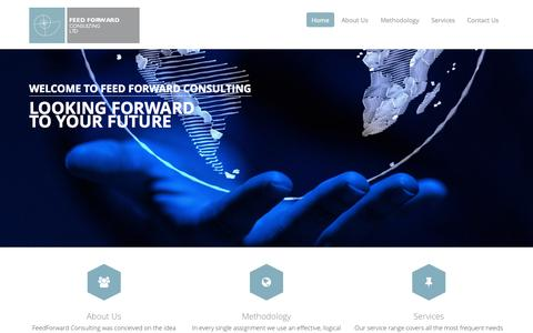 Screenshot of Home Page ffcons.co.uk - FeedForward Consulting - Home - captured Oct. 5, 2014