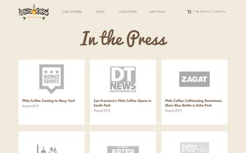 Press | Philz Coffee