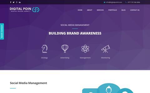 Screenshot of Team Page digitalpoin8.com - Social Media Management Company Dubai, UAE, Social Media Marketing Agency, SMM Optimization Services - captured Jan. 7, 2016
