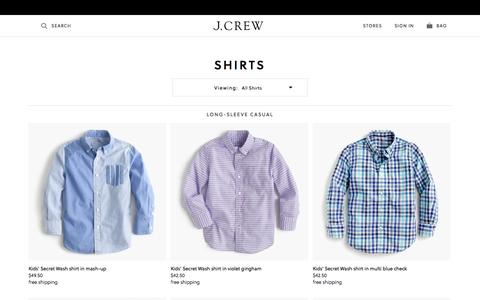 Boys' Dress Shirts, Linen Shirts & More : Boys' Shirts | J.Crew