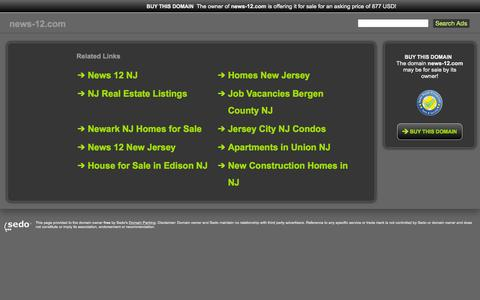 Screenshot of Home Page news-12.com - news-12.com-This website is for sale!-news-12 Resources and Information. - captured Sept. 27, 2015
