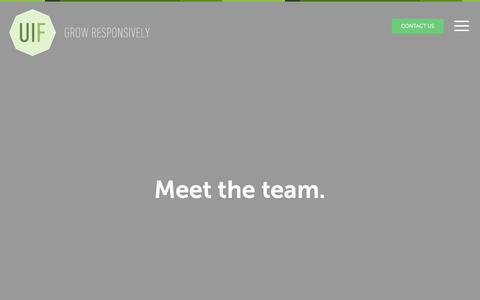 Screenshot of Team Page uifarm.co.uk - Meet the team. | UI Farm - captured April 5, 2019