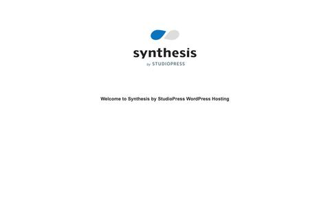 Screenshot of Home Page 60secondcommunications.com - Synthesis by StudioPress WordPress Hosting - captured Oct. 20, 2018