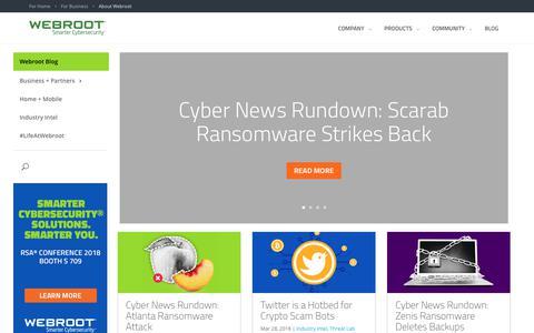 Webroot Threat Blog - Webroot Threat Blog