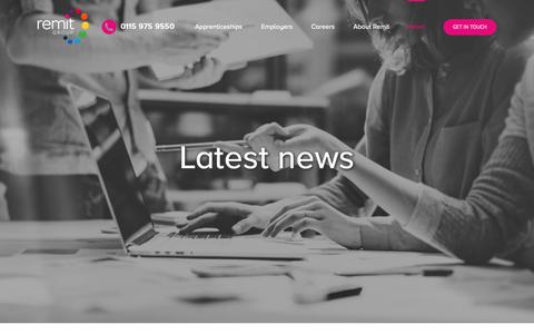 Screenshot of Press Page remit.co.uk - News – Remit Group - captured Oct. 20, 2018
