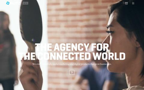 Screenshot of Contact Page blitzagency.com - BLITZ - Full Service Digital Agency with Social Media Agency Capabilities - captured Nov. 2, 2015