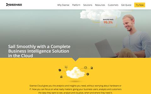 Cloud Business Intelligence (BI) and Analytics | Sisense