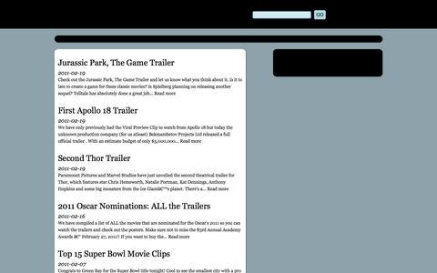 Screenshot of Press Page alltrailers.net - Movie News - AllTrailers.net - captured June 24, 2016