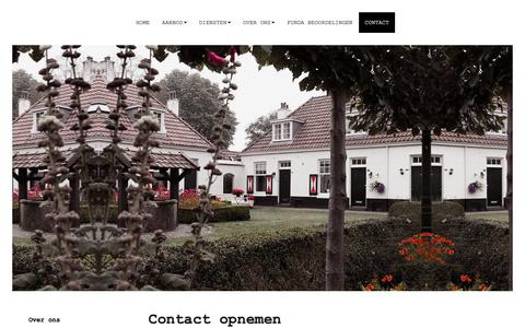Screenshot of Contact Page vanwerkhoven.com - Contact opnemen - captured Oct. 18, 2018