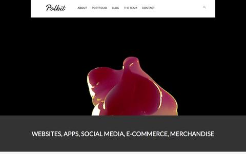 Screenshot of About Page craftsmanindustries.co.uk - Polkit Studio   Websites, E-Commerce, Apps  » About - captured Sept. 30, 2014