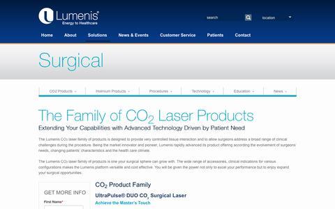 CO2 Surgical Laser | Lumenis