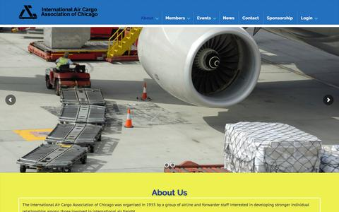 Screenshot of About Page iacac.com - About Us - IACAC - captured March 4, 2016
