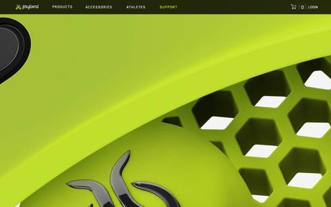 Screenshot of Contact Page Support Page jaybirdsport.com - Jaybird | Support - captured Dec. 11, 2015