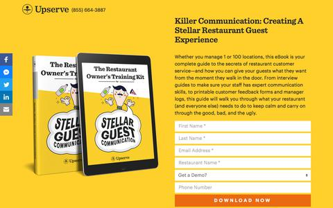 The Restaurant Owner's Guest Communication Guide | Upserve