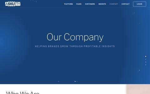 Company  |  Askuity