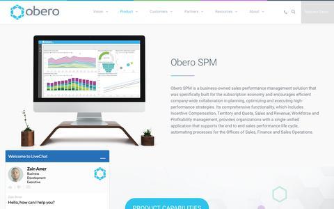 Product - Obero SPM