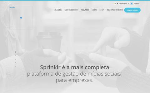 Gestão de Redes Sociais: Transformação Digital | Sprinklr