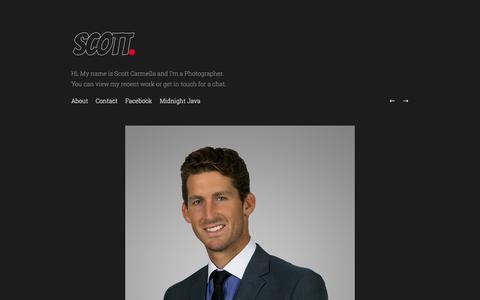 Screenshot of Team Page dunked.com - People - Scott Carmella - captured Sept. 19, 2014