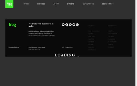 frog | Global Design and Strategy Firm