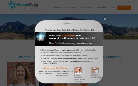 Screenshot of Team Page roundpegg.com - Team   RoundPegg - captured Feb. 18, 2016