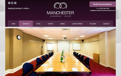Screenshot of Testimonials Page manchesterconferencecentre.co.uk - Manchester Conference Venues, Manchester Rent a Room | Manchester Conference Centre - captured Oct. 6, 2014