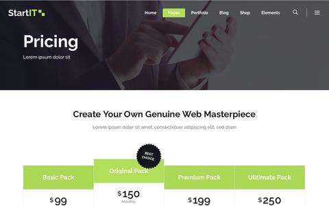 Screenshot of Pricing Page fitto.co - Pricing – Fitto - captured Nov. 25, 2016