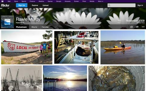 Screenshot of Flickr Page flickr.com - Flickr: Rawle Murdy's Photostream - captured Oct. 25, 2014