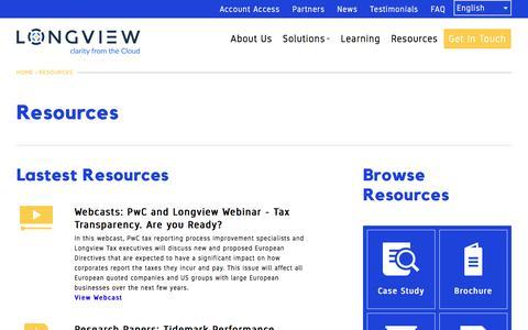 Resources | Longview