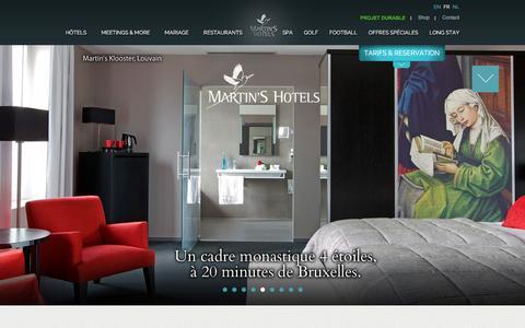 Screenshot of Terms Page martinshotels.com - Martins Hotels - captured Sept. 20, 2018