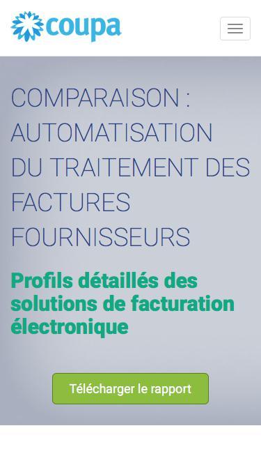 Coupa | Rapport sur l'automatisation des factures