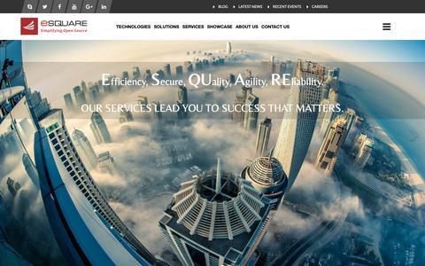 Screenshot of Testimonials Page esquareinfo.com - Liferay Consulting | Liferay Migration | Liferay Development | Liferay Training | Liferay Integration - E2 Software India Private Limited - captured Sept. 26, 2018