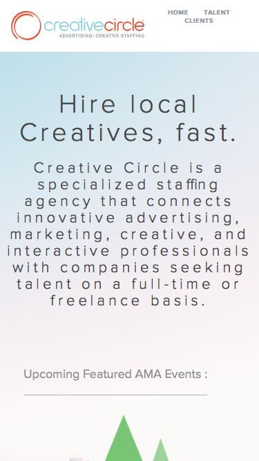 AMA Upcoming Events | Creative Circle