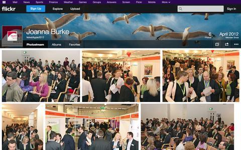Screenshot of Flickr Page flickr.com - Flickr: VelvetApple2012's Photostream - captured Oct. 25, 2014