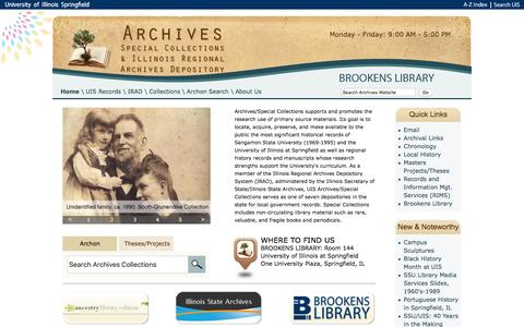 Home | Archives and Illinois Regional Archives Depository